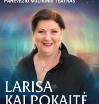 Aktorė LARISA KALPOKAITĖ. ROMANSŲ VAKARAS