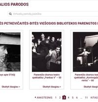 Gabrielės Petkevičaitės-Bitės viešosios bibliotekos parengtos virtualios parodos